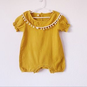 Other - Toddler Girl Mustards Yellow Jumpsuit   Romper